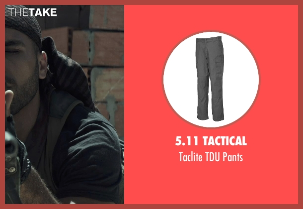 5.11 Tactical gray pants from American Sniper seen with Sammy Sheik (Mustafa)