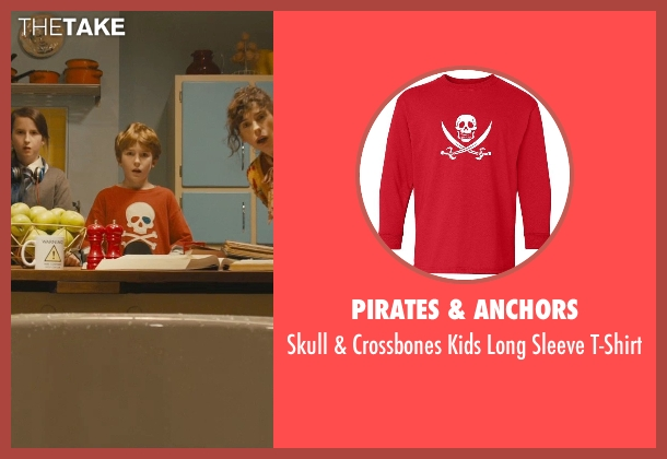 Pirates & Anchors t-shirt from Paddington seen with Samuel Joslin (Jonathan Brown)