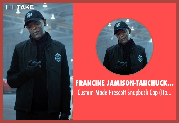 Francine Jamison-Tanchuck (Costume Designer) black cap from Barely Lethal seen with Samuel L. Jackson (Hardman)