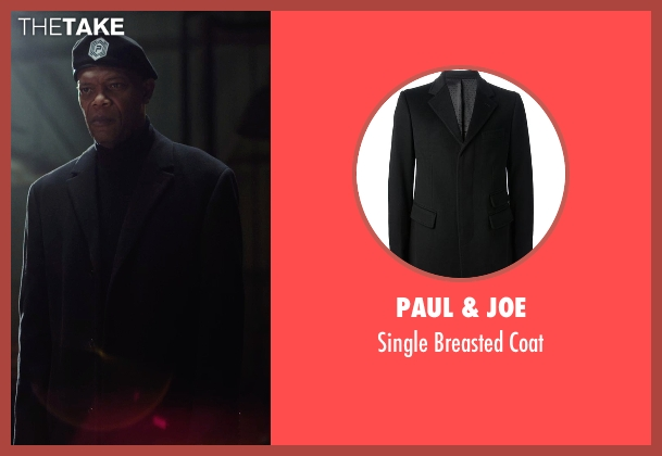 Paul & Joe black coat from Barely Lethal seen with Samuel L. Jackson (Hardman)