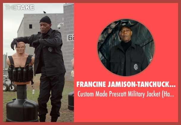 Francine Jamison-Tanchuck (Costume Designer) black jacket from Barely Lethal seen with Samuel L. Jackson (Hardman)
