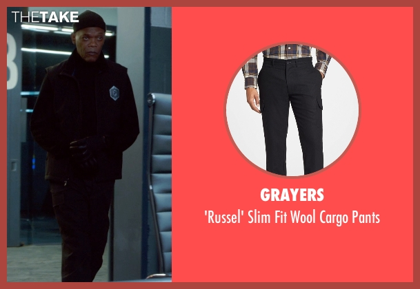 Grayers black pants from Barely Lethal seen with Samuel L. Jackson (Hardman)