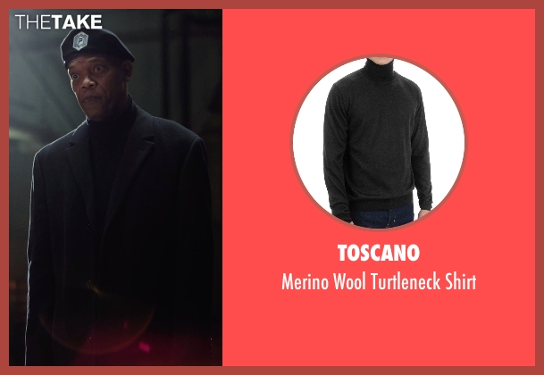 Toscano black shirt from Barely Lethal seen with Samuel L. Jackson (Hardman)