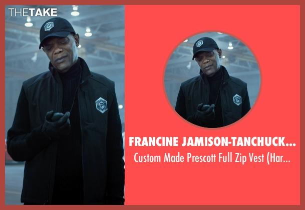Francine Jamison-Tanchuck (Costume Designer) black vest from Barely Lethal seen with Samuel L. Jackson (Hardman)