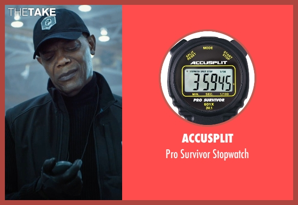 Accusplit stopwatch from Barely Lethal seen with Samuel L. Jackson (Hardman)