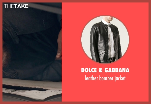 DOLCE & GABBANA black jacket from Captain America: The Winter Soldier seen with Samuel L. Jackson (Nick Fury)