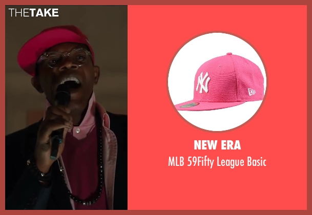 New Era pink basic from Kingsman: The Secret Service seen with Samuel L. Jackson (Valentine)