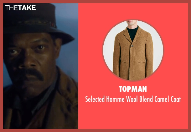 Topman brown coat from The Legend of Tarzan seen with Samuel L. Jackson (George Washington Williams)