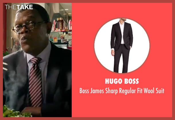 Hugo Boss black suit from xXx: Return of Xander Cage seen with Samuel L. Jackson (Augustus Gibbons)