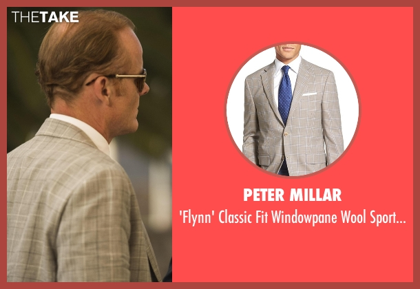 Peter Millar beige coat from The Night Manager seen with Sandy Langbourne (Alistair Petrie)