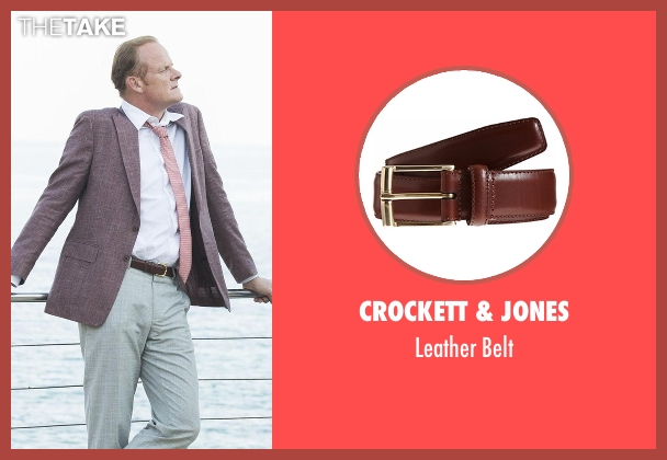 Crockett & Jones brown belt from The Night Manager seen with Sandy Langbourne (Alistair Petrie)