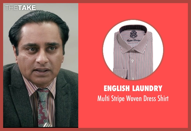 English Laundry red shirt from Absolutely Anything seen with Sanjeev Bhaskar (Ray)