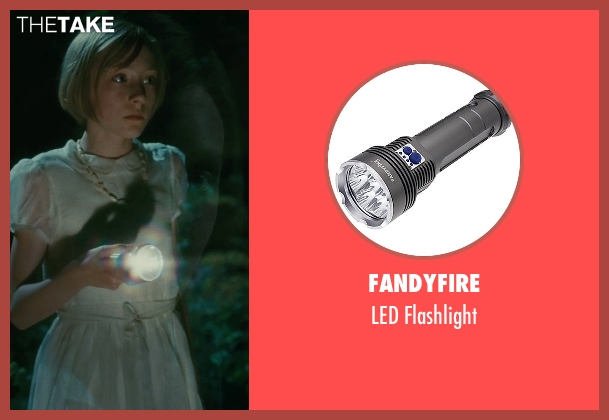 FandyFire flashlight from Atonement seen with Saoirse Ronan (Briony Tallis, aged 13)