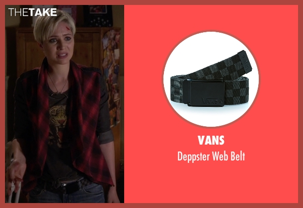 Vans belt from Pretty Little Liars seen with Sara Harvey (Dre Davis)