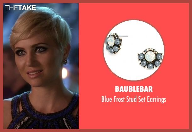 Baublebar silver earrings from Pretty Little Liars seen with Sara Harvey (Dre Davis)