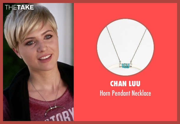 Chan Luu silver necklace from Pretty Little Liars seen with Sara Harvey (Dre Davis)