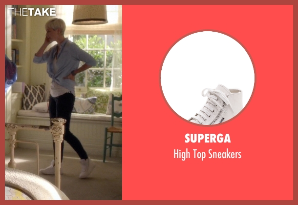 Superga white sneakers from Pretty Little Liars seen with Sara Harvey (Dre Davis)