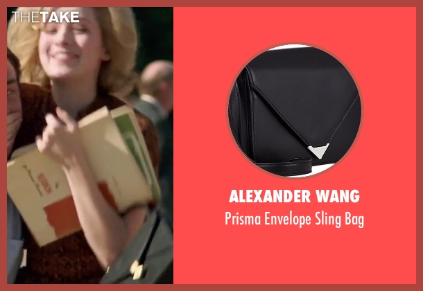 Alexander Wang black bag from My All American seen with Sarah Bolger (Linda Wheeler)