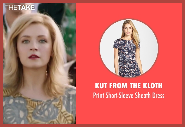 Kut From The Kloth blue dress from My All American seen with Sarah Bolger (Linda Wheeler)