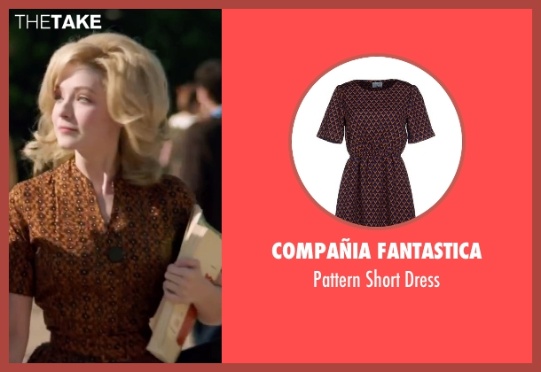Compañia Fantastica brown dress from My All American seen with Sarah Bolger (Linda Wheeler)