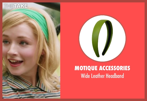 Motique Accessories green headband from My All American seen with Sarah Bolger (Linda Wheeler)