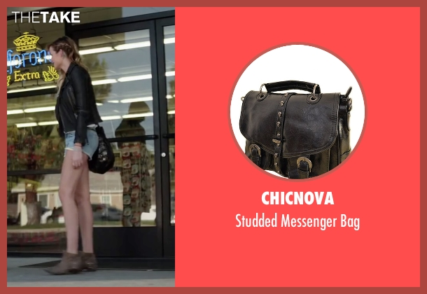 Chicnova black bag from Scout's Guide to the Zombie Apocalypse seen with Sarah Dumont (Denise)