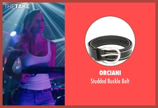 Orciani black belt from Scout's Guide to the Zombie Apocalypse seen with Sarah Dumont (Denise)