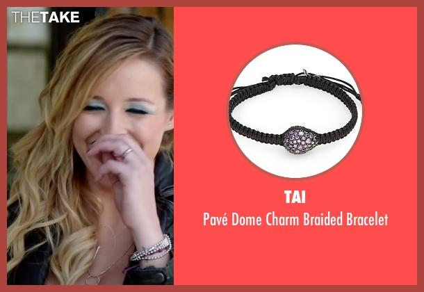 Tai black bracelet from Scout's Guide to the Zombie Apocalypse seen with Sarah Dumont (Denise)