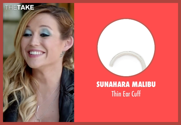 SunaharA Malibu silver cuff from Scout's Guide to the Zombie Apocalypse seen with Sarah Dumont (Denise)