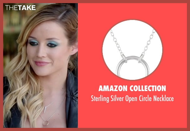 Amazon Collection silver necklace from Scout's Guide to the Zombie Apocalypse seen with Sarah Dumont (Denise)