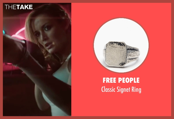 Free People silver ring from Scout's Guide to the Zombie Apocalypse seen with Sarah Dumont (Denise)