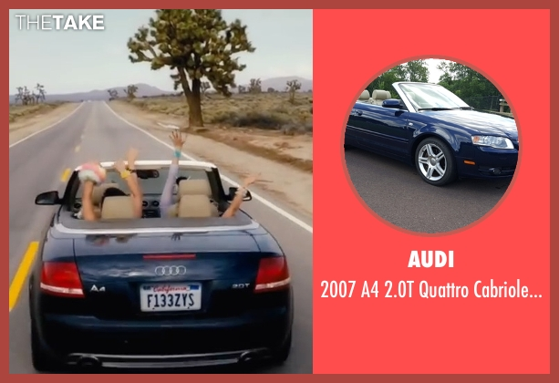 Audi convertible from XOXO seen with Sarah Hyland (Krystal)