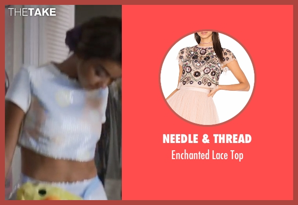 Needle & Thread top from XOXO seen with Sarah Hyland (Krystal)