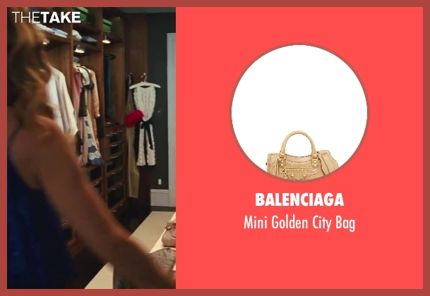 Balenciaga beige bag from Sex and the City 2 seen with Sarah Jessica Parker (Carrie Bradshaw)