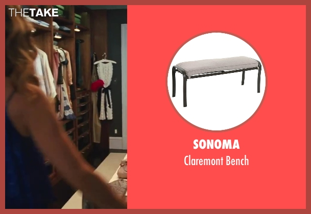 Sonoma bench from Sex and the City 2 seen with Sarah Jessica Parker (Carrie Bradshaw)