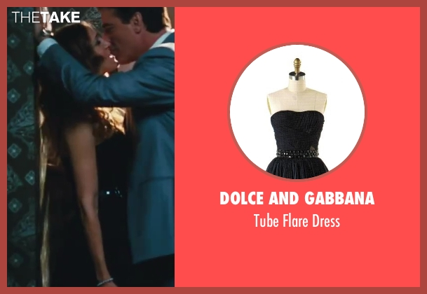 Dolce And Gabbana black dress from Sex and the City 2 seen with Sarah Jessica Parker (Carrie Bradshaw)