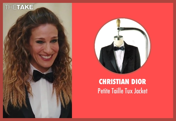 Christian Dior black jacket from Sex and the City 2 seen with Sarah Jessica Parker (Carrie Bradshaw)