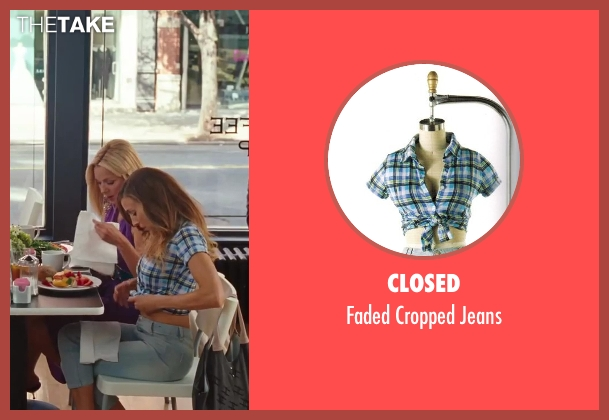 Closed blue jeans from Sex and the City 2 seen with Sarah Jessica Parker (Carrie Bradshaw)