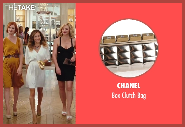 Chanel gold bag from Sex and the City 2 seen with Sarah Jessica Parker (Carrie Bradshaw)