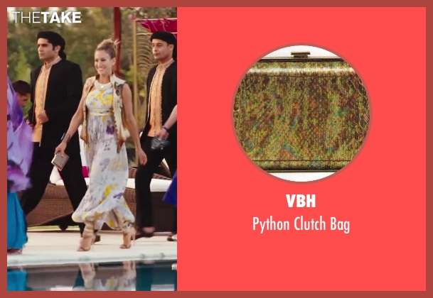 VBH gold bag from Sex and the City 2 seen with Sarah Jessica Parker (Carrie Bradshaw)