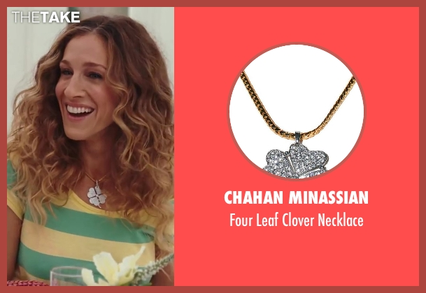 Chahan Minassian gold necklace from Sex and the City 2 seen with Sarah Jessica Parker (Carrie Bradshaw)