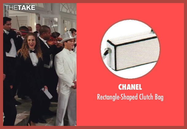 Chanel white bag from Sex and the City 2 seen with Sarah Jessica Parker (Carrie Bradshaw)