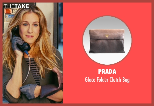 Prada brown bag from Sex and the City seen with Sarah Jessica Parker (Carrie Bradshaw)