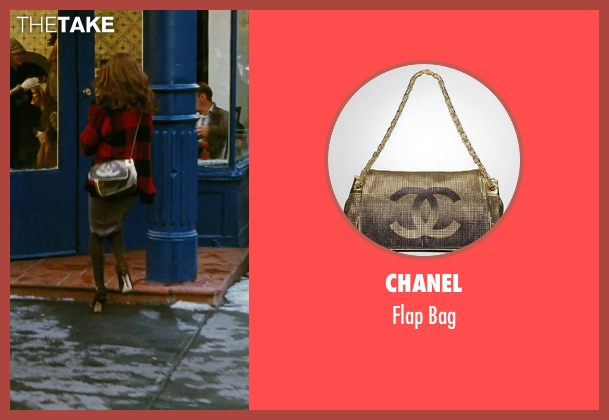 Chanel gold bag from Sex and the City seen with Sarah Jessica Parker (Carrie Bradshaw)