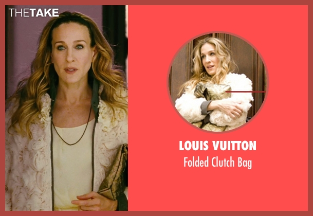 Louis Vuitton gold bag from Sex and the City seen with Sarah Jessica Parker (Carrie Bradshaw)