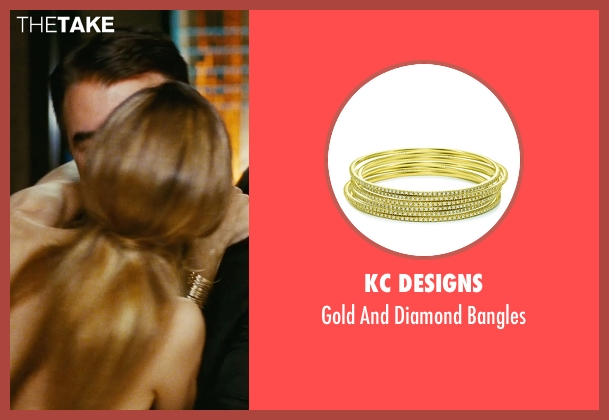 KC Designs gold bangles from Sex and the City seen with Sarah Jessica Parker (Carrie Bradshaw)