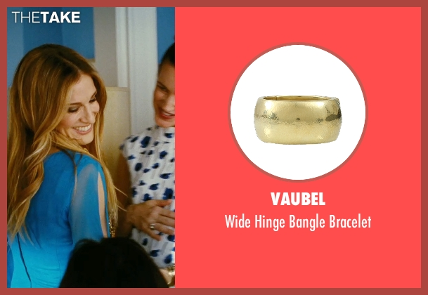 Vaubel gold bracelet from Sex and the City seen with Sarah Jessica Parker (Carrie Bradshaw)