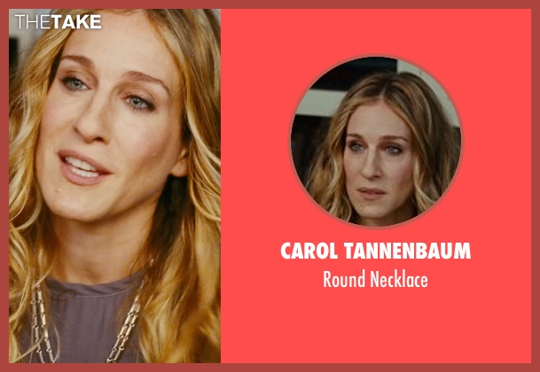 Carol Tannenbaum silver necklace from Sex and the City seen with Sarah Jessica Parker (Carrie Bradshaw)
