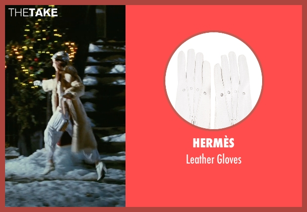Hermès white gloves from Sex and the City seen with Sarah Jessica Parker (Carrie Bradshaw)