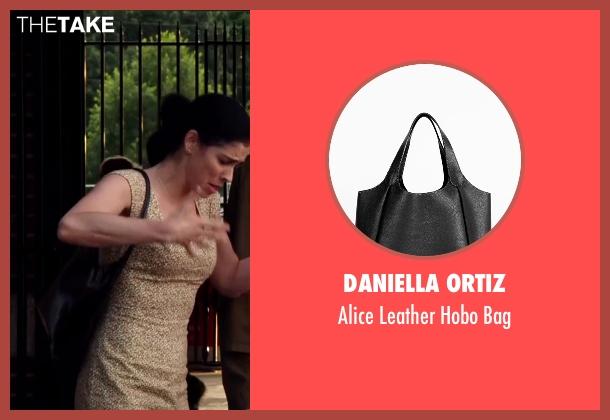 Daniella Ortiz black bag from Ashby seen with Sarah Silverman (June Wallis)